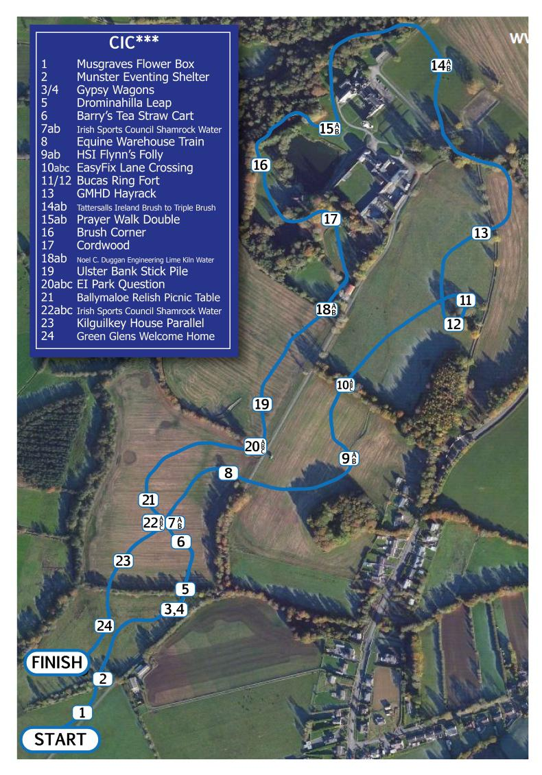 MILLSTREET HORSE TRIALS: See the course the eventing world is talking about