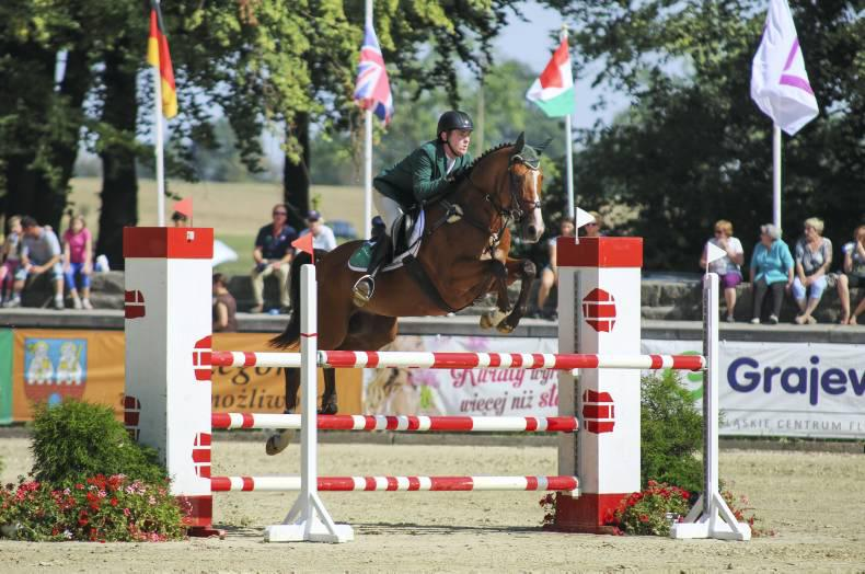 Irish young riders take eventing team bronze