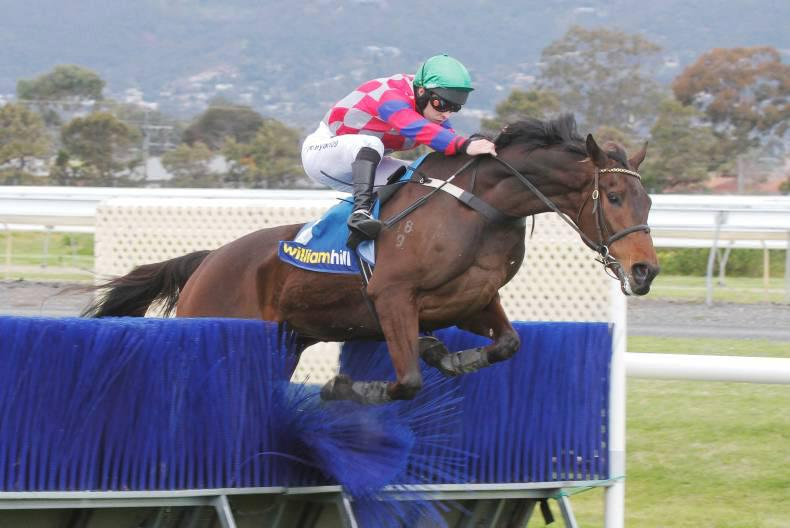 AUSTRALIA: Irish jump jockeys lose annual challenge