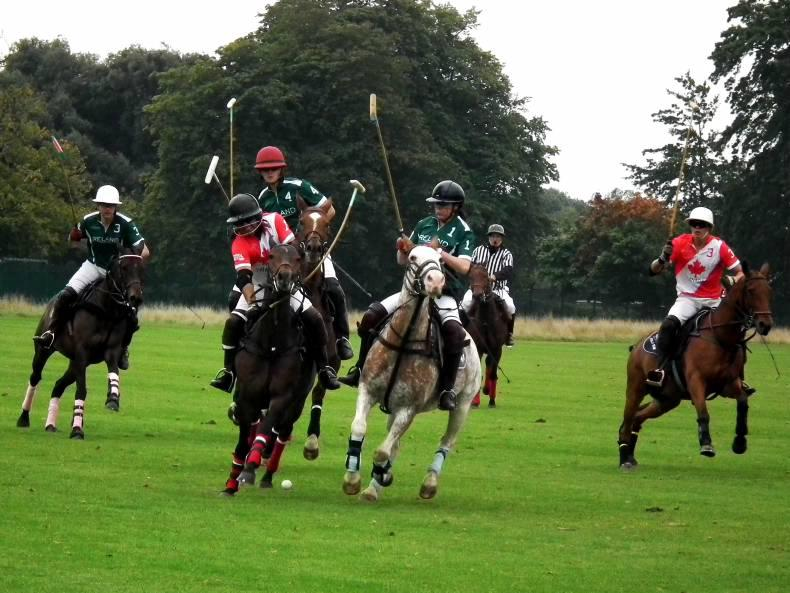 Stormy tournament ends summer polo