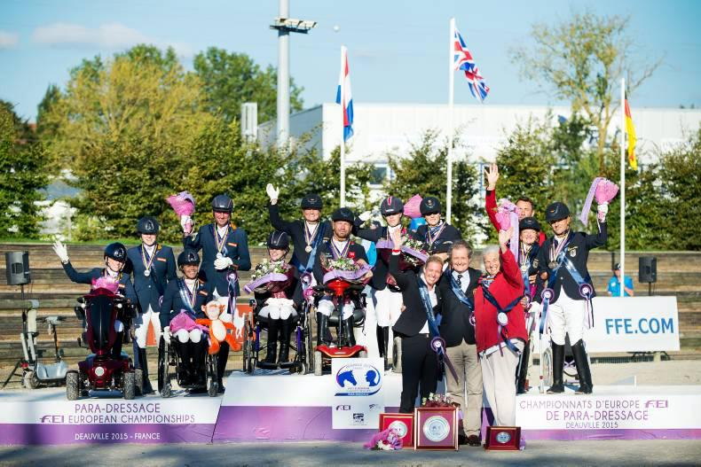 Three Irish in top ten at European para-dressage championships