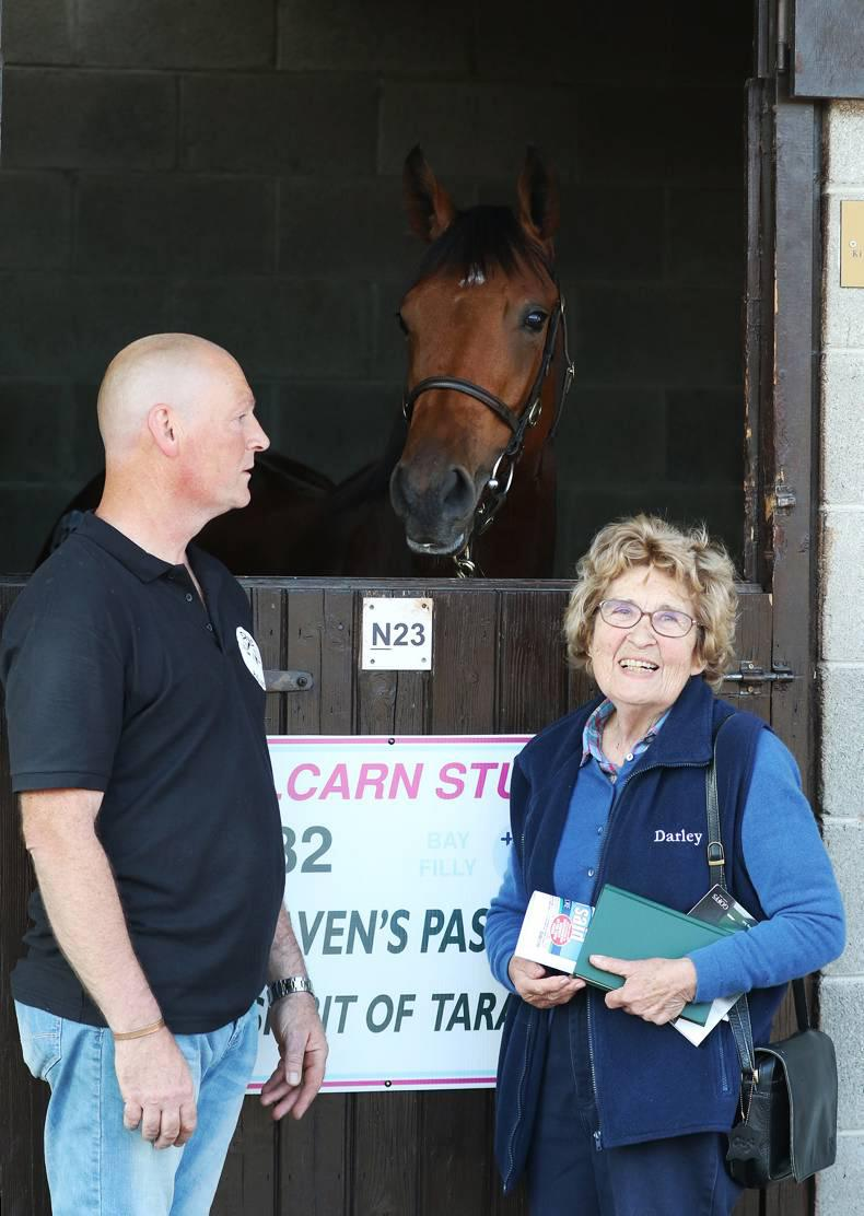 GOFFS ORBY SALE: Pat O'Kelly tops Orby again but trade selective