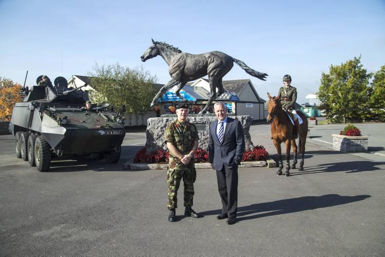 On your toes for Defence Day at the Curragh