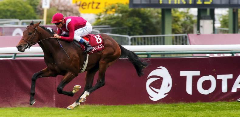 FRANCE: Make Believe blasts home in Foret
