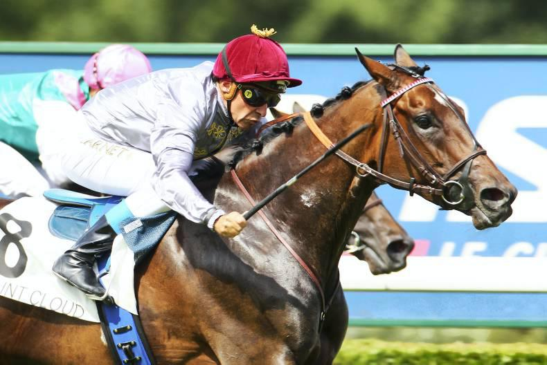 DONN McCLEAN: Treve carried out on her shield
