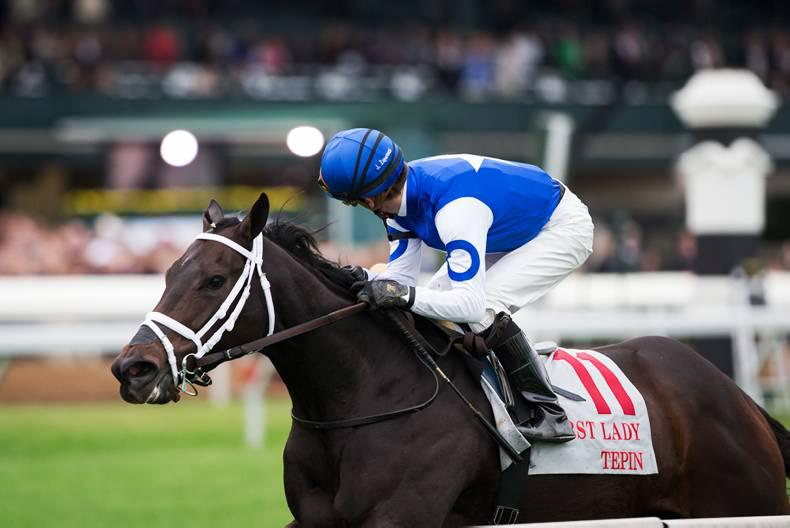 AMERICAN:  Tepin shows her talents