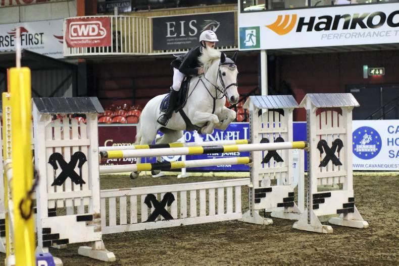 Top class pony action at Cavan