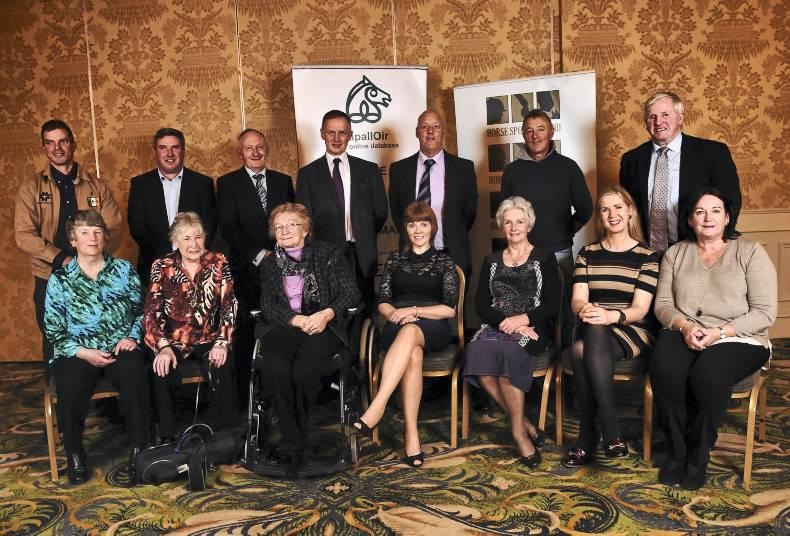 Irish household names and equine champions honoured