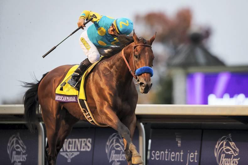 BREEDERS CUP: Pharoah gallops out as true great