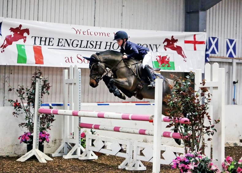 Total domination for Irish pony riders at Southview
