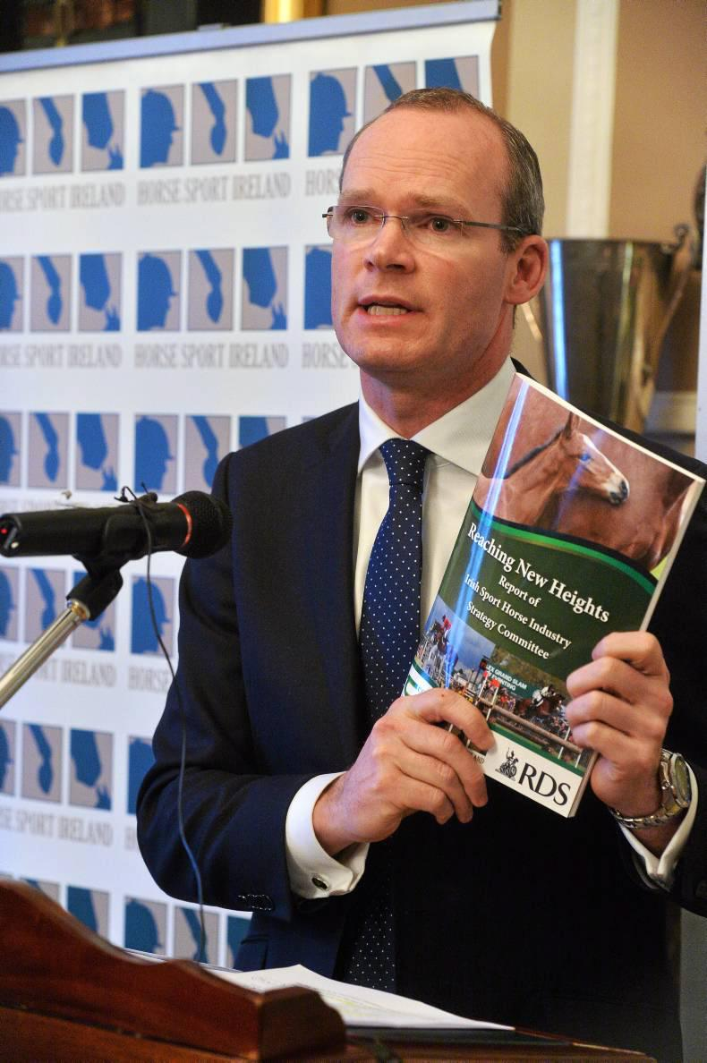 Coveney - sport horse sector deserves more than €5m funding