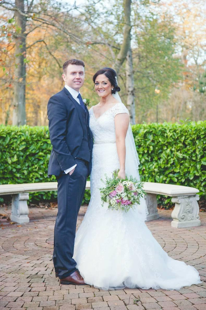 Wedding bells  for Hollie and Conor