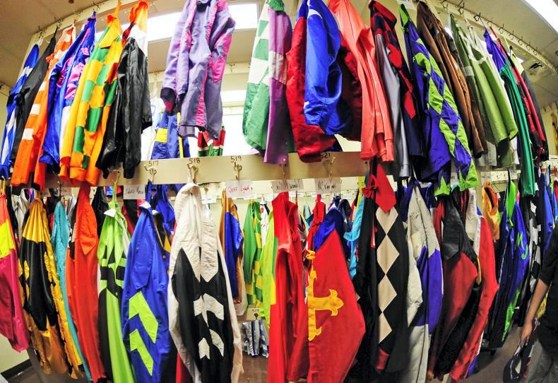 Racing silks in demand for Christmas