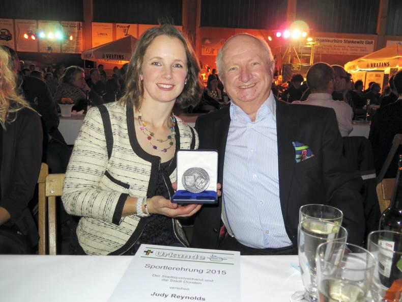 Reynolds honoured with German award