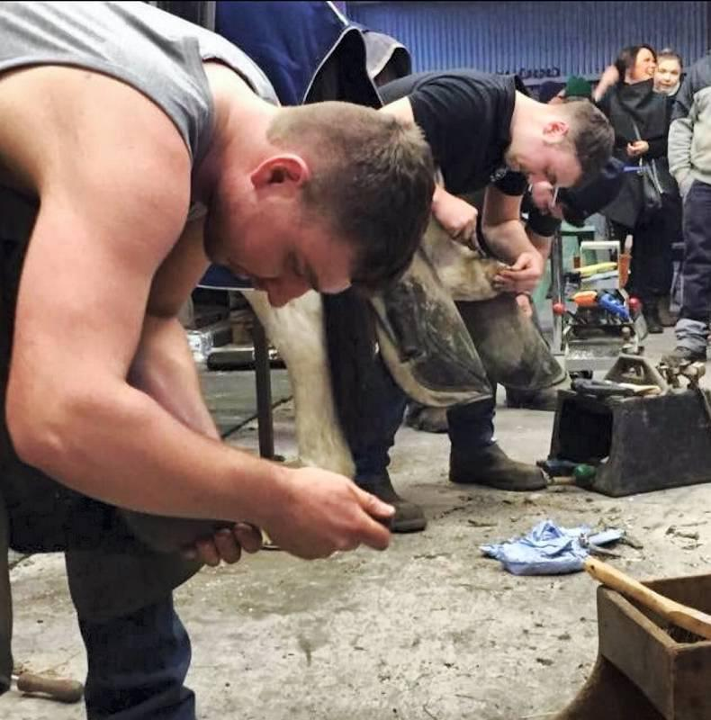 HOOF FEATURE: Irish farrier team selections