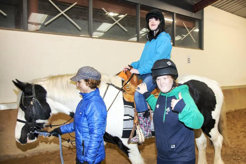 Equine therapy beneficial for calming challenging behaviour