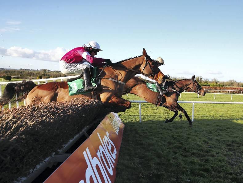 NAVAN SUNDAY: Favourites overturned  but Mullins still on top