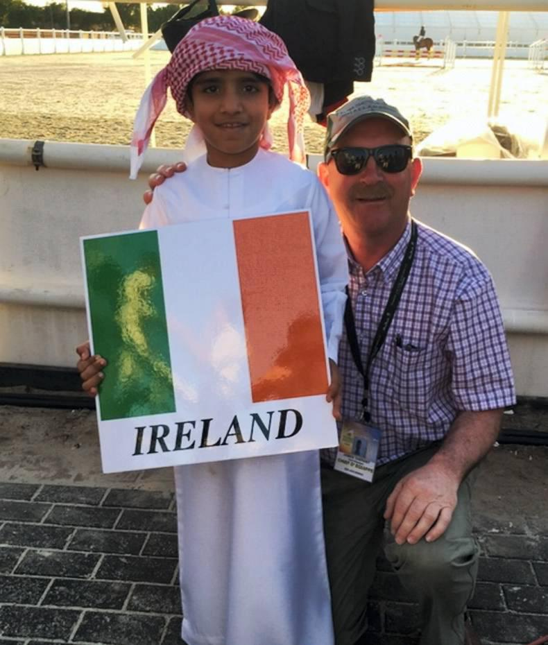 PONY TALES: Flying the flag in Al Ain
