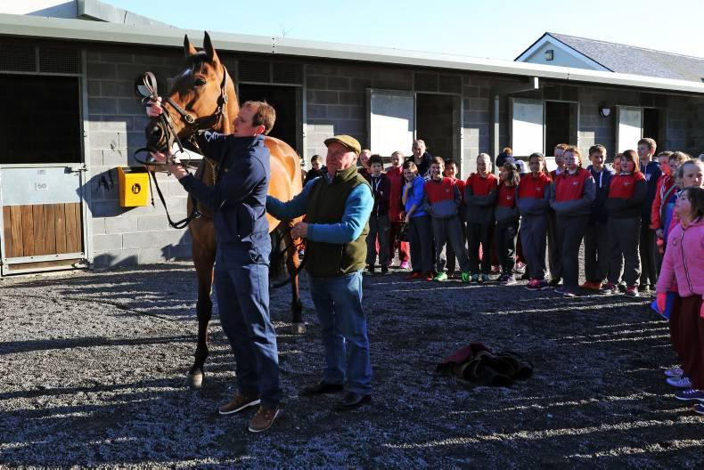 PARROT MOUTH: Over 400 happy young racegoers