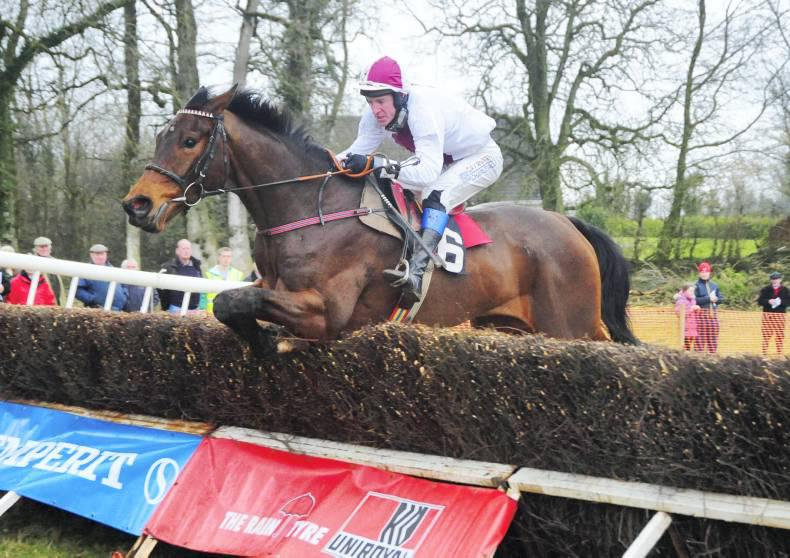 Derek O'Connor boost for National Hunt Chase favourite Minella Rocco