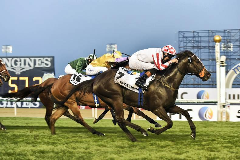 Sole powers home for third in Meydan Sprint