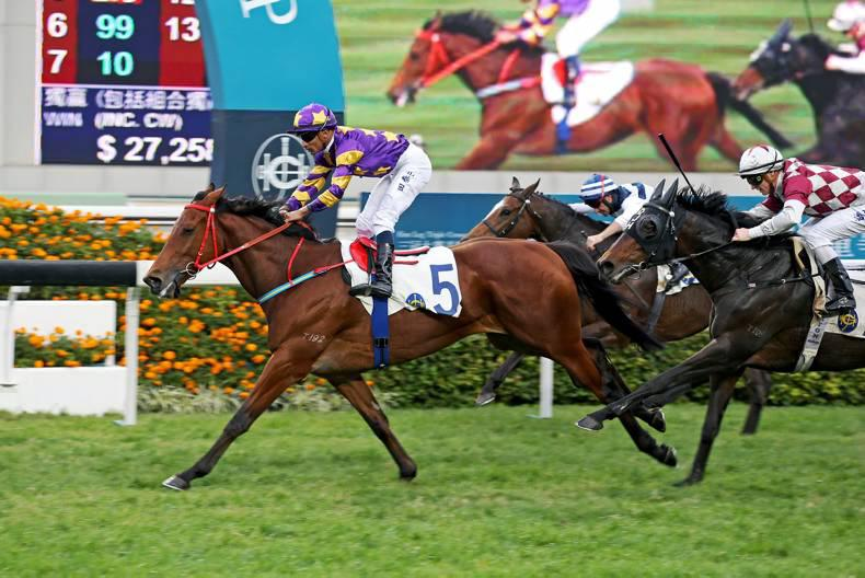 HONG KONG: Eastern Express carries Irish hopes in Derby