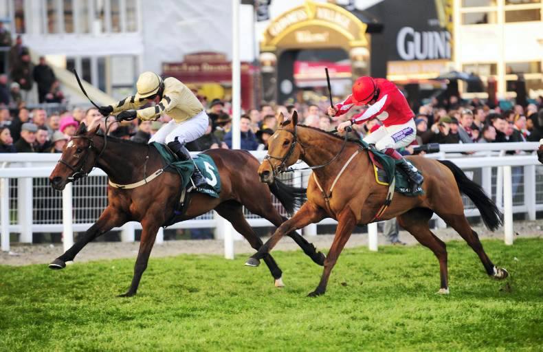 CHELTENHAM WEDNESDAY: Ballyandy battled for photo finish