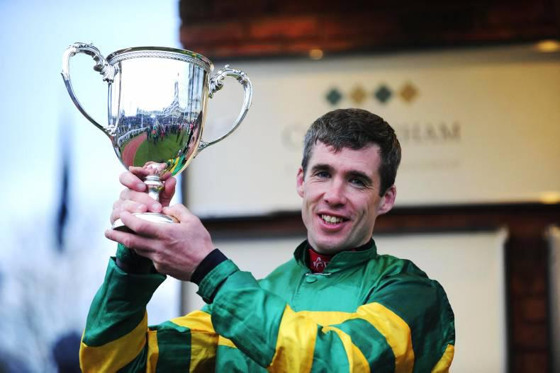 MARGIE MCLOONE: O'Connor gets one on the board at Cheltenham