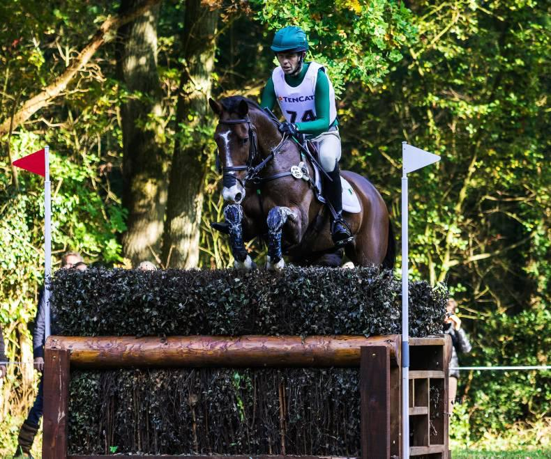 Irish eventing team moves into podium place at French Nations Cup