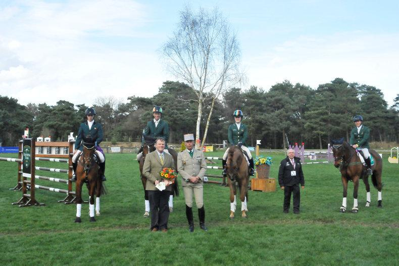 Irish eventers third in Nations Cup
