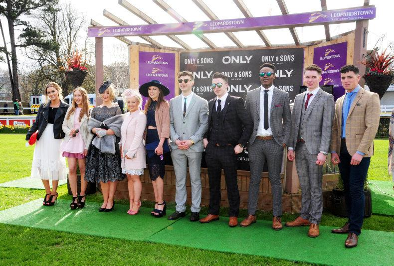 PARROT MOUTH: 10,000 students at Leopardstown have a ball