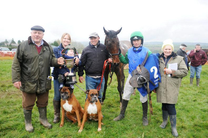 MARGIE MCLOONE: Leighton's first pointing success