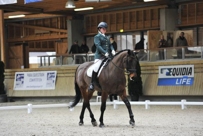 Nations Cup third for Irish para riders