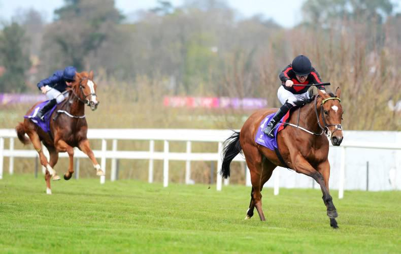 SIMON ROWLANDS: Jet Setting advancing on classic timefigure