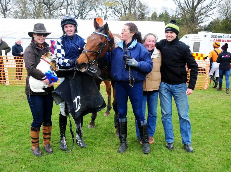 MARGIE MCLOONE: Special win for Wentges at Stradbally