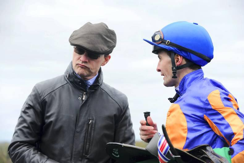 DONN MCCLEAN: O'Brien enjoying a speedy April