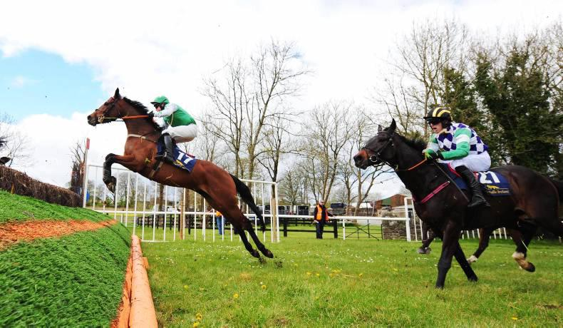 BALLYSTEEN SUNDAY: The Two Amigos jumps and stays