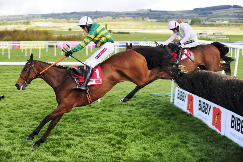 PUNCHESTOWN WEDNESDAY: Carlingford Lough raises the roof