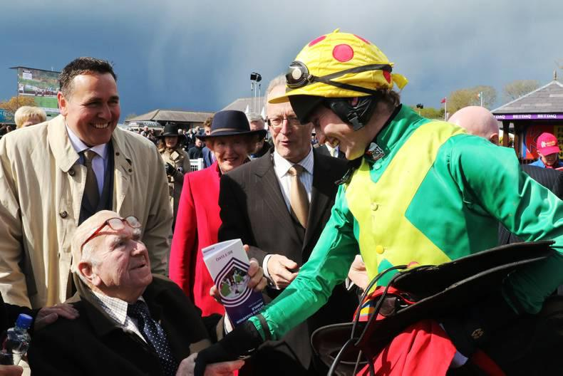 PUNCHESTOWN FRIDAY: No one around to spoil Ted's day