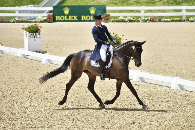 Michael Jung widens the gap after cross-country at Kentucky