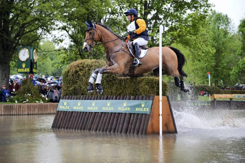 Two Irish-bred horses poised in Rolex top three