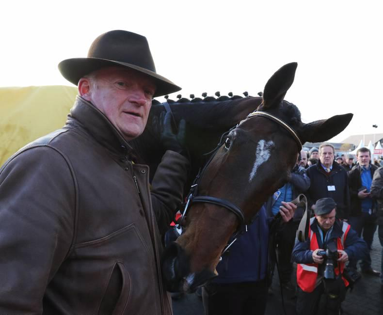Whiteout holds Limini for surprise Punchestown victory