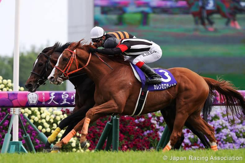 JAPAN: Kitasan battles to courageous win