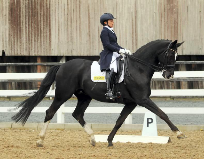 Winning dressage double for Dunphy