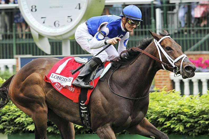 AMERICA: Tepin on track for Royal Ascot
