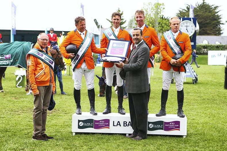 Dutch lead Nations Cup charge