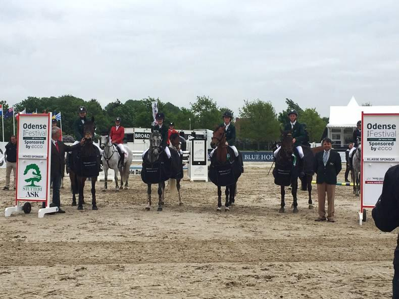 Danish double for Irish pony riders