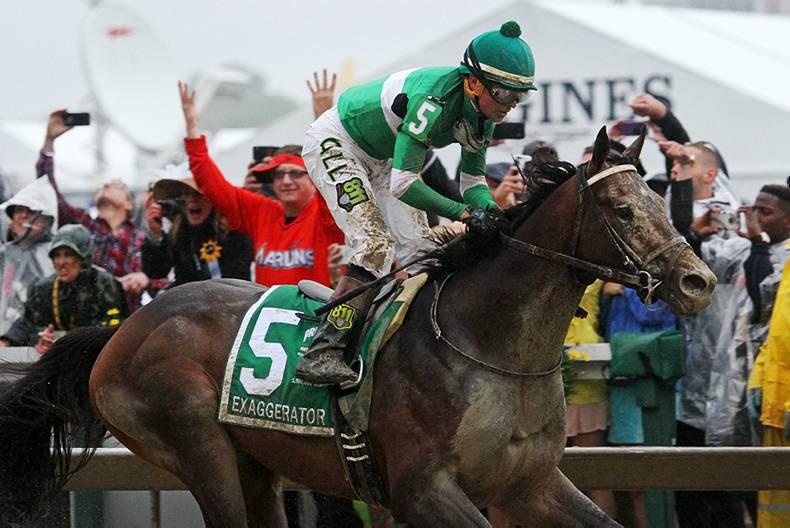 VIDEO - PREAKNESS STAKES: Exaggerator steals the Pimlico show