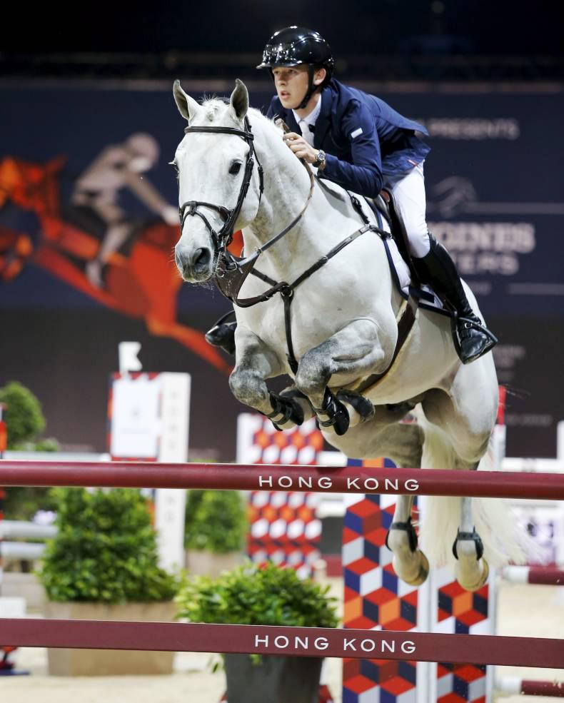 Bertram Allen and Hector fourth in Madrid