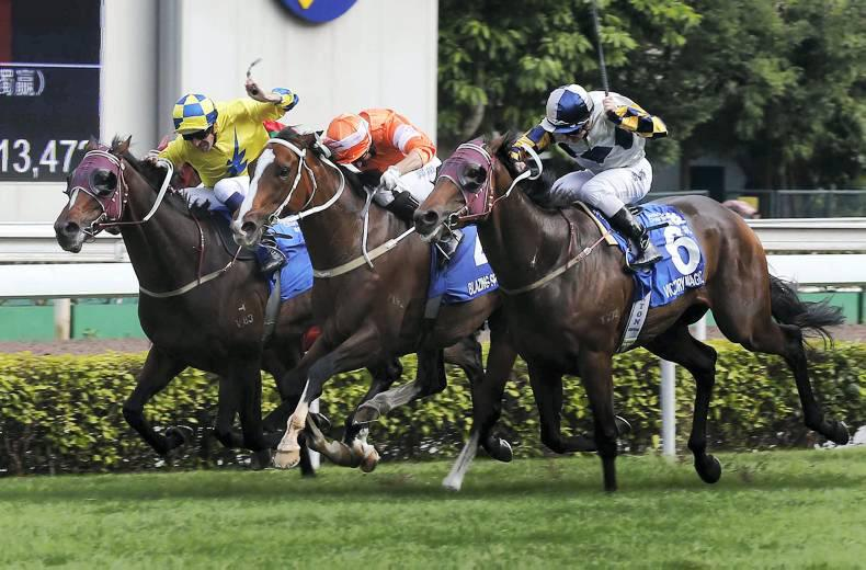HONG KONG: Speed blazes back to form